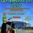 Arlington Guitar Show Poster 2010